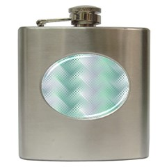 Jellyfish Ballet Wind Hip Flask (6 Oz) by Simbadda