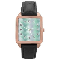 Jellyfish Ballet Wind Rose Gold Leather Watch  by Simbadda