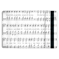 Jingle Bells Song Christmas Carol Ipad Air Flip by Simbadda