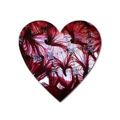 Jellyfish Ballet Wind Heart Magnet by Simbadda