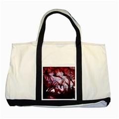 Jellyfish Ballet Wind Two Tone Tote Bag by Simbadda