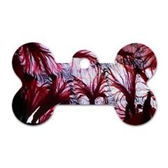 Jellyfish Ballet Wind Dog Tag Bone (one Side) by Simbadda