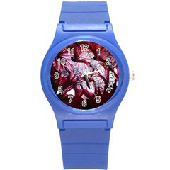 Jellyfish Ballet Wind Round Plastic Sport Watch (s) by Simbadda