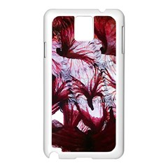 Jellyfish Ballet Wind Samsung Galaxy Note 3 N9005 Case (white) by Simbadda