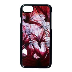 Jellyfish Ballet Wind Apple Iphone 7 Seamless Case (black) by Simbadda