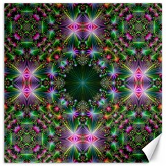 Digital Kaleidoscope Canvas 12  X 12   by Simbadda