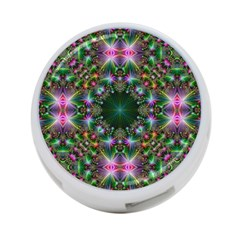 Digital Kaleidoscope 4 Port Usb Hub (one Side) by Simbadda