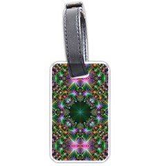 Digital Kaleidoscope Luggage Tags (two Sides) by Simbadda