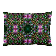 Digital Kaleidoscope Pillow Case (two Sides) by Simbadda