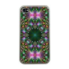 Digital Kaleidoscope Apple Iphone 4 Case (clear) by Simbadda