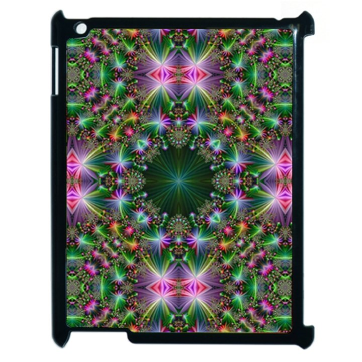 Digital Kaleidoscope Apple iPad 2 Case (Black)