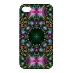 Digital Kaleidoscope Apple Iphone 4/4s Premium Hardshell Case by Simbadda