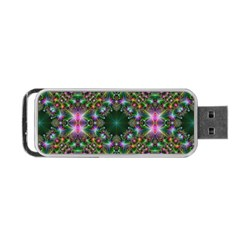 Digital Kaleidoscope Portable Usb Flash (two Sides) by Simbadda