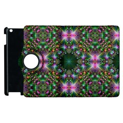 Digital Kaleidoscope Apple Ipad 3/4 Flip 360 Case by Simbadda