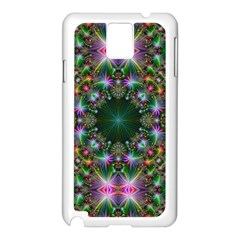 Digital Kaleidoscope Samsung Galaxy Note 3 N9005 Case (white) by Simbadda