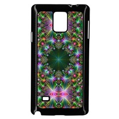 Digital Kaleidoscope Samsung Galaxy Note 4 Case (black) by Simbadda