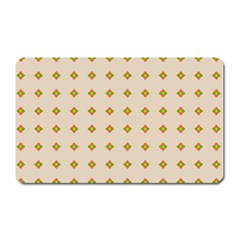 Pattern Background Retro Magnet (rectangular) by Simbadda