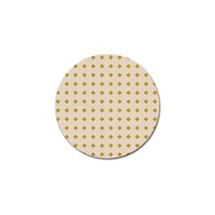 Pattern Background Retro Golf Ball Marker by Simbadda