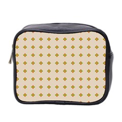 Pattern Background Retro Mini Toiletries Bag 2 Side by Simbadda