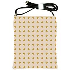 Pattern Background Retro Shoulder Sling Bags by Simbadda