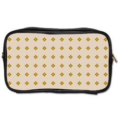 Pattern Background Retro Toiletries Bags 2 Side by Simbadda