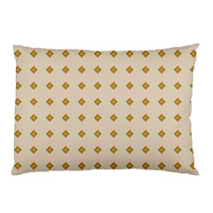 Pattern Background Retro Pillow Case (two Sides) by Simbadda
