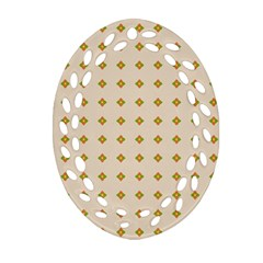 Pattern Background Retro Ornament (oval Filigree) by Simbadda