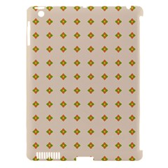 Pattern Background Retro Apple Ipad 3/4 Hardshell Case (compatible With Smart Cover) by Simbadda