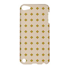 Pattern Background Retro Apple Ipod Touch 5 Hardshell Case by Simbadda