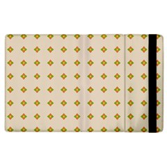 Pattern Background Retro Apple Ipad 3/4 Flip Case by Simbadda