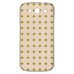 Pattern Background Retro Samsung Galaxy S3 S Iii Classic Hardshell Back Case by Simbadda