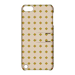 Pattern Background Retro Apple Ipod Touch 5 Hardshell Case With Stand by Simbadda