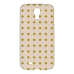 Pattern Background Retro Samsung Galaxy S4 I9500/i9505 Hardshell Case by Simbadda