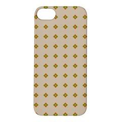 Pattern Background Retro Apple Iphone 5s/ Se Hardshell Case by Simbadda