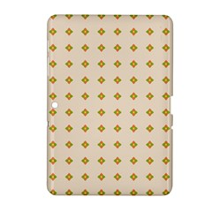 Pattern Background Retro Samsung Galaxy Tab 2 (10 1 ) P5100 Hardshell Case  by Simbadda