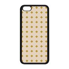 Pattern Background Retro Apple Iphone 5c Seamless Case (black) by Simbadda