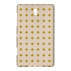 Pattern Background Retro Samsung Galaxy Tab S (8 4 ) Hardshell Case  by Simbadda