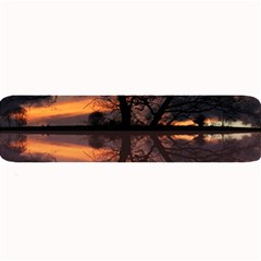 Aurora Sunset Sun Landscape Large Bar Mats by Simbadda