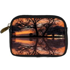 Aurora Sunset Sun Landscape Digital Camera Cases by Simbadda