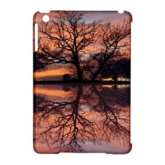 Aurora Sunset Sun Landscape Apple Ipad Mini Hardshell Case (compatible With Smart Cover) by Simbadda