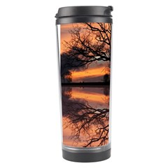 Aurora Sunset Sun Landscape Travel Tumbler by Simbadda