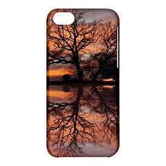 Aurora Sunset Sun Landscape Apple Iphone 5c Hardshell Case by Simbadda