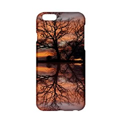 Aurora Sunset Sun Landscape Apple Iphone 6/6s Hardshell Case by Simbadda