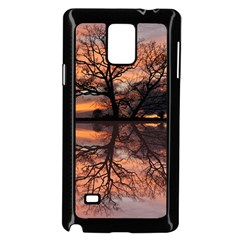 Aurora Sunset Sun Landscape Samsung Galaxy Note 4 Case (black) by Simbadda