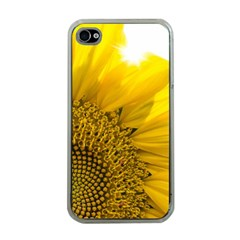 Plant Nature Leaf Flower Season Apple Iphone 4 Case (clear) by Simbadda