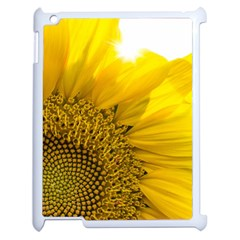 Plant Nature Leaf Flower Season Apple Ipad 2 Case (white) by Simbadda