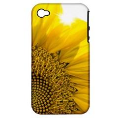 Plant Nature Leaf Flower Season Apple Iphone 4/4s Hardshell Case (pc+silicone) by Simbadda