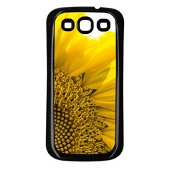 Plant Nature Leaf Flower Season Samsung Galaxy S3 Back Case (black) by Simbadda