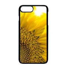 Plant Nature Leaf Flower Season Apple Iphone 7 Plus Seamless Case (black) by Simbadda