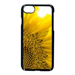 Plant Nature Leaf Flower Season Apple Iphone 7 Seamless Case (black) by Simbadda